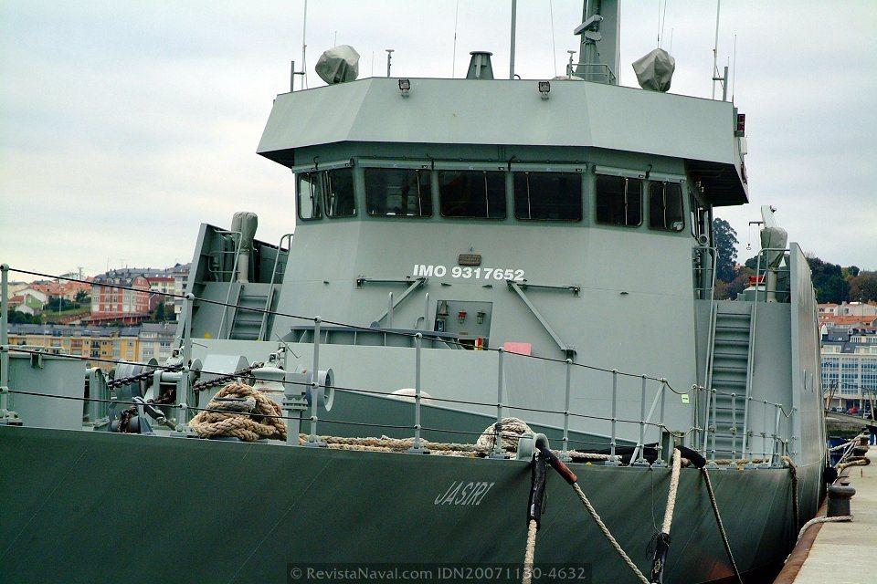 Vista del puente de gobierno (Foto: Revista Naval)