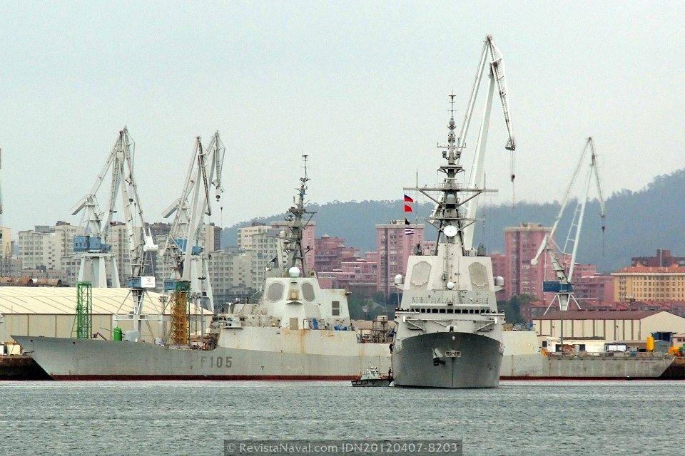 La fragata Blas de Lezo zarpa rumbo a EE.UU.