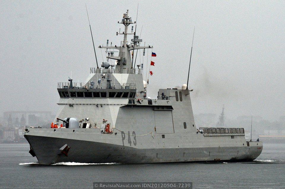 El BAM «Relámpago» zarpa hoy de la base naval de Rota para incorporarse a Atalanta