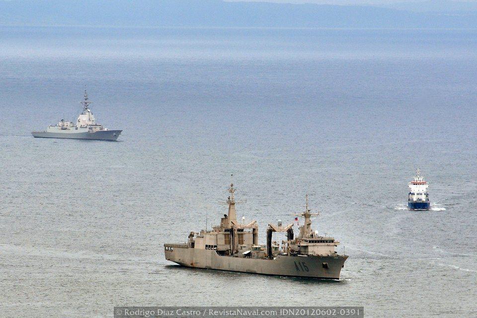 Australia confirma el despliegue del AOR Cantabria con su Armada en 2013