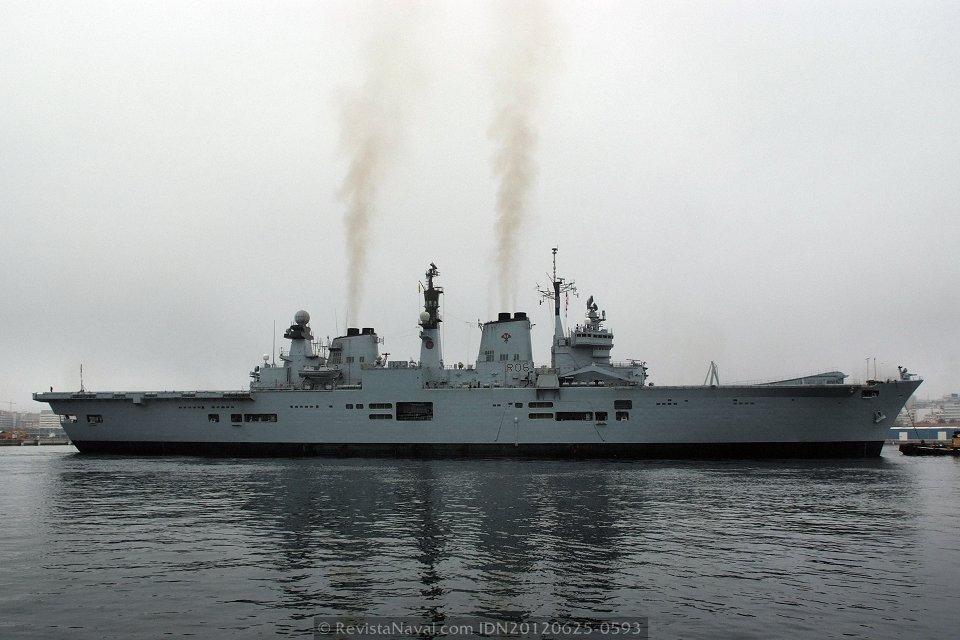 El HMS «Illustrious» podría ser conservado como museo flotante