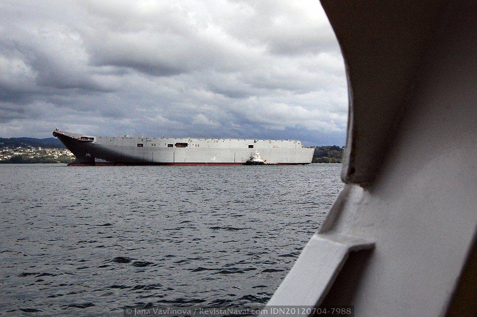 El «Adelaide» y su gemelo «Canberra» serán completados en el astillero de BAE Systems en Williamstown (Foto: Jana Vavřínová / Revista Naval)