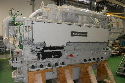 Motor marino de Navantia