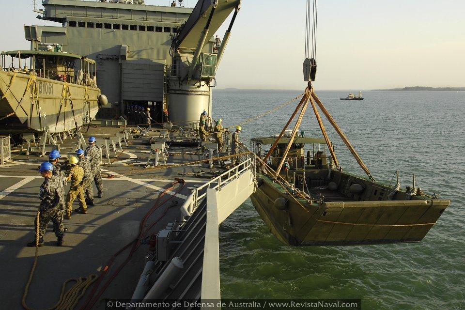 Escuadrón de buques anfibios y servicios 20121019-040905-lst-lpa-ran-australia-04