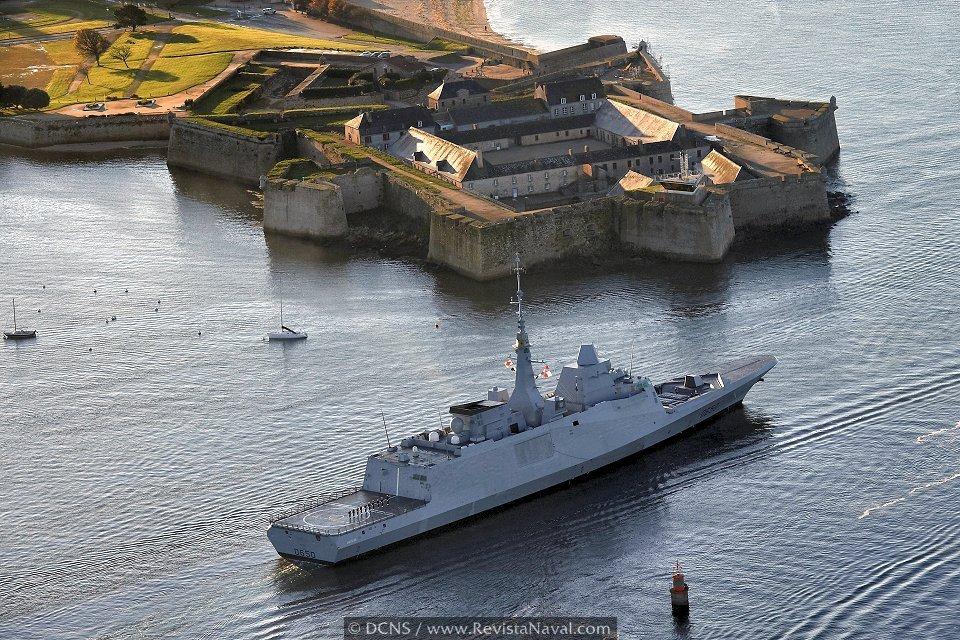 La Marina francesa operará la primera FREMM a lo largo de 2013