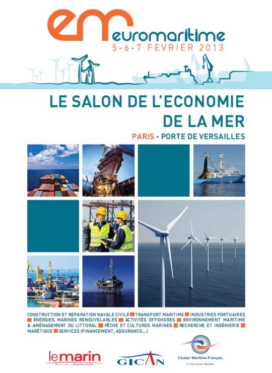DCNS participa en la primera edición de Euromaritime en París