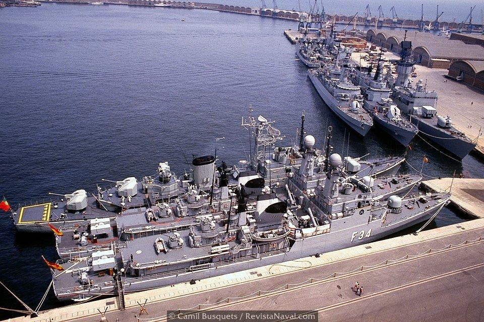 Otra vista de la dársena (Foto: Camil Busquets / Revista Naval)