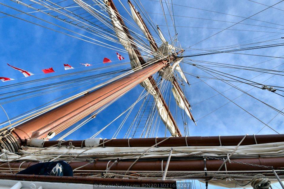 El B/E «Juan Sebastián de Elcano» finaliza el crucero piloto de marinería