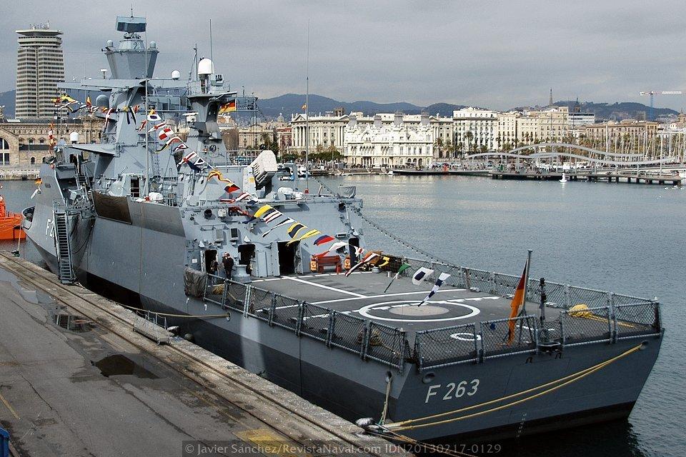 Corbeta «Oldenburg» F263 (Foto: Javier Sánchez/Revista Naval)