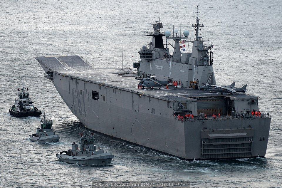 Turquía elige el LHD de Navantia para su programa de buque de asalto anfibio