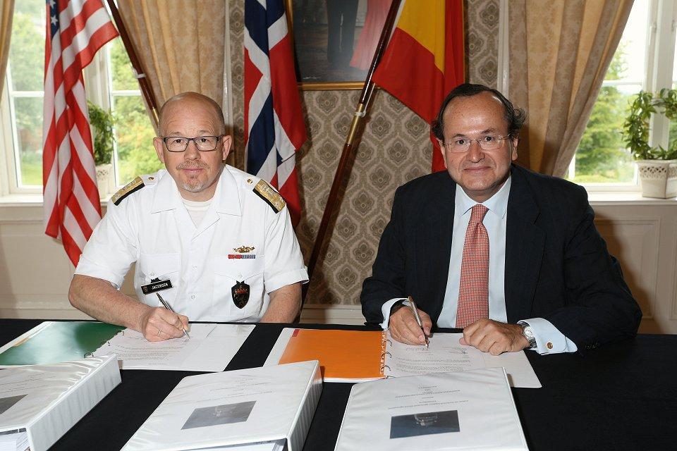 Noruega confía a Navantia el mantenimiento de sus fragatas