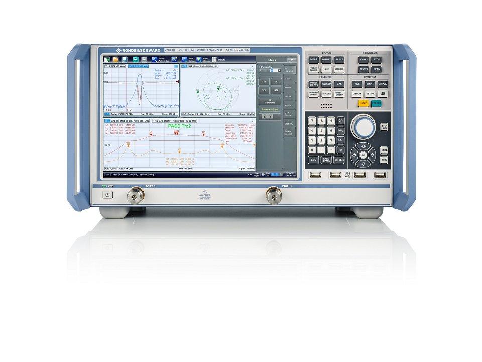 Rohde & Schwarz amplía su familia de analizadores de redes R&S ZNB con nuevos modelos hasta 20 GHz y 40 GHz