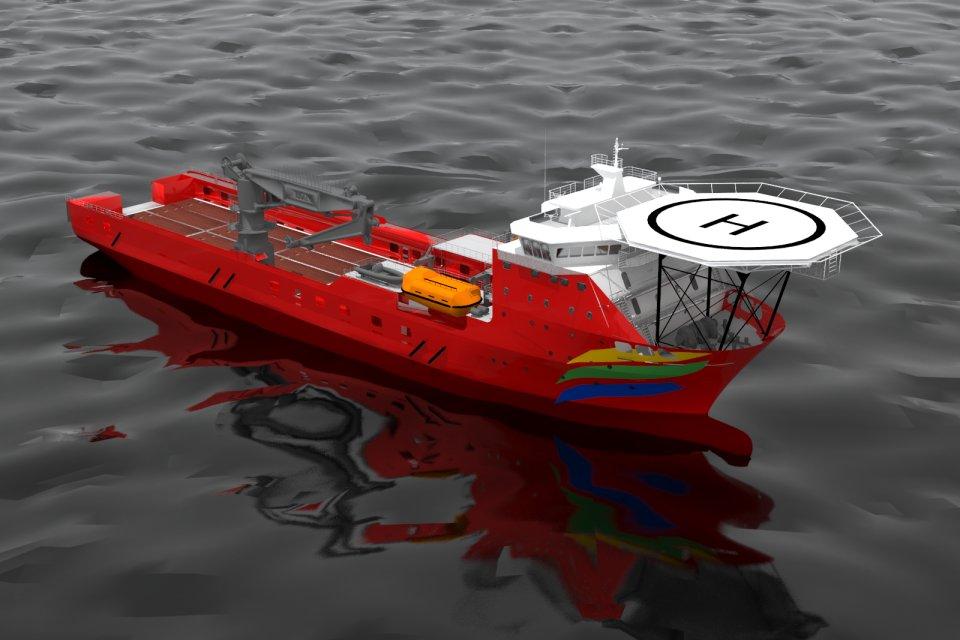 Ghenova Brasil presentará en Navalshore 2013 sus nuevos diseños de buques de apoyo offshore