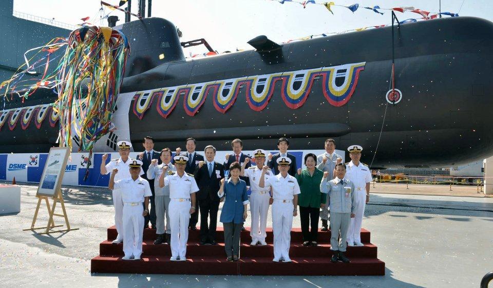 DSME lanza el submarino «Kim Jwa-Jin» para la Armada de Corea