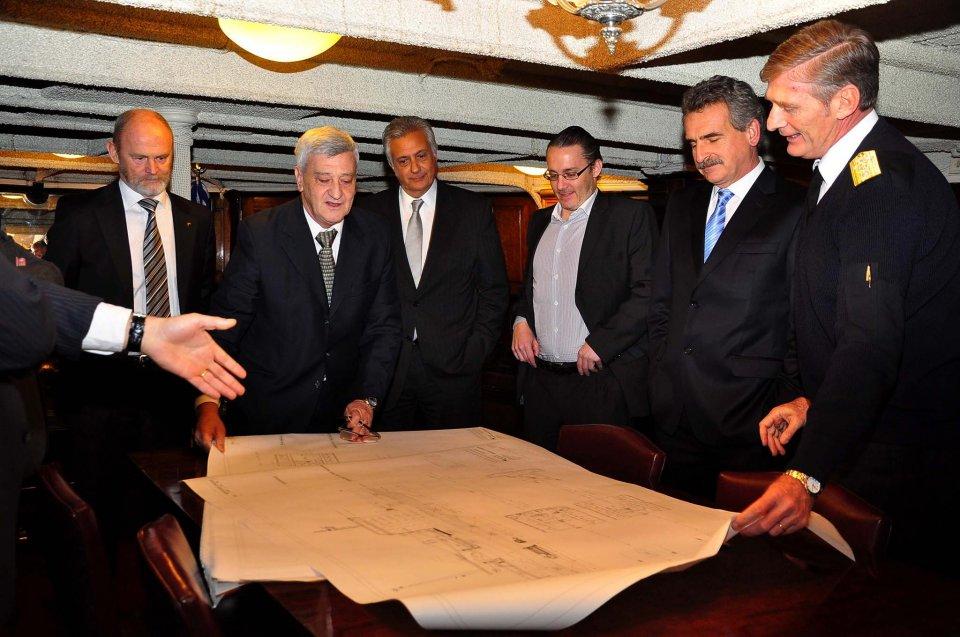 Astillero Río Santiago aspira a construir avisos para la Armada Argentina