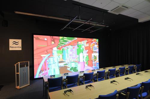 SENER suministra el segundo Centro de Diseño Virtual a Navantia