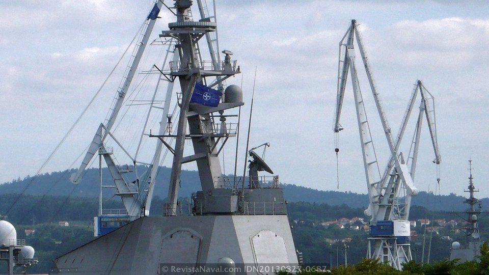 La fragata «Blas de Lezo» se dirige al Mediterráneo al mando de la SNMG-2