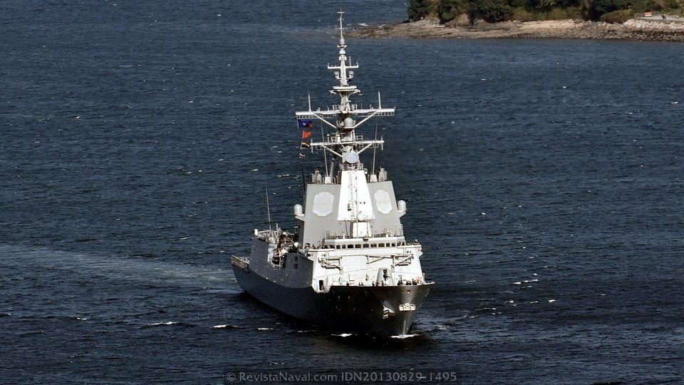 Barcelona acogerá a mediados de octubre el relevo del buque de mando de la SNMG-2