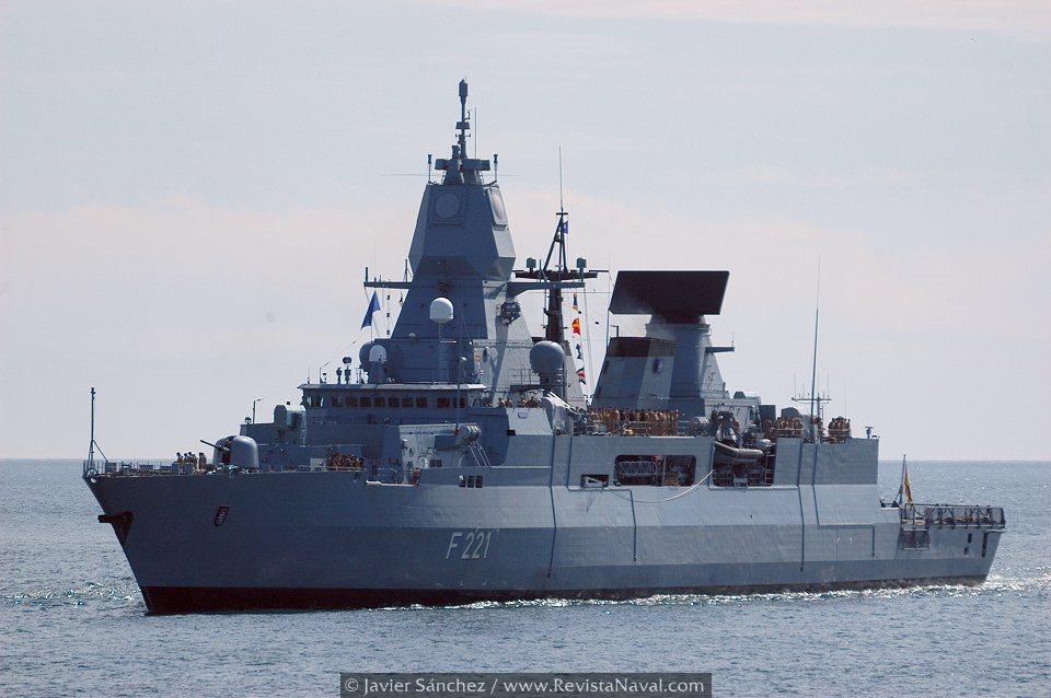 Fragata «Hessen» F221 (Foto: Javier Sánchez/Revista Naval)