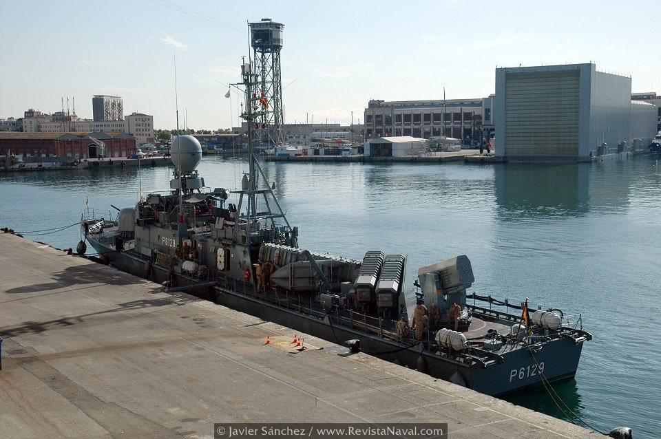 Patrullero lanzamisiles «Wiesel» P6129 (Foto: Javier Sánchez/Revista Naval)