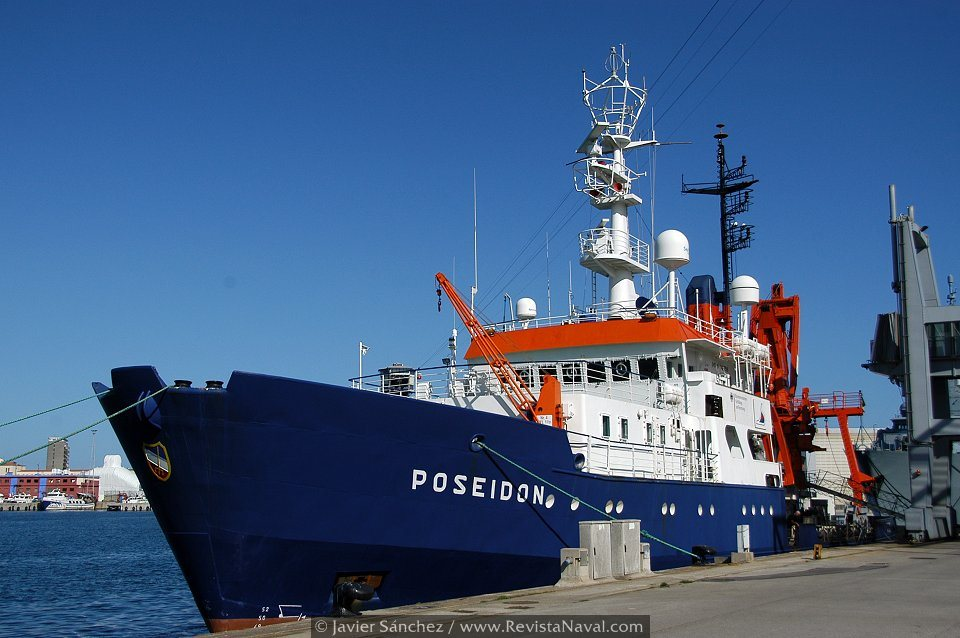 Buque hidrográfico «Poseidon» (Foto: Javier Sánchez/Revista Naval)