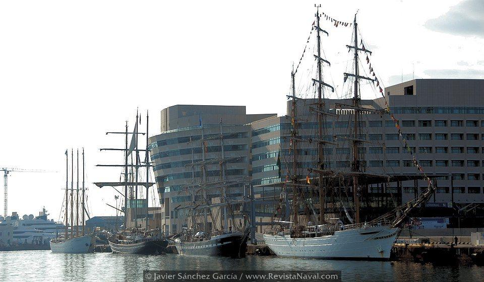 Mediterranean Tall Ships Regatta 2013 en Barcelona