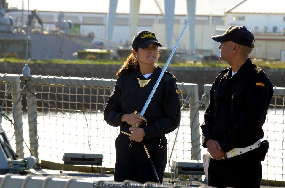 Guardia miiitar del buque (Foto: Revista Naval)