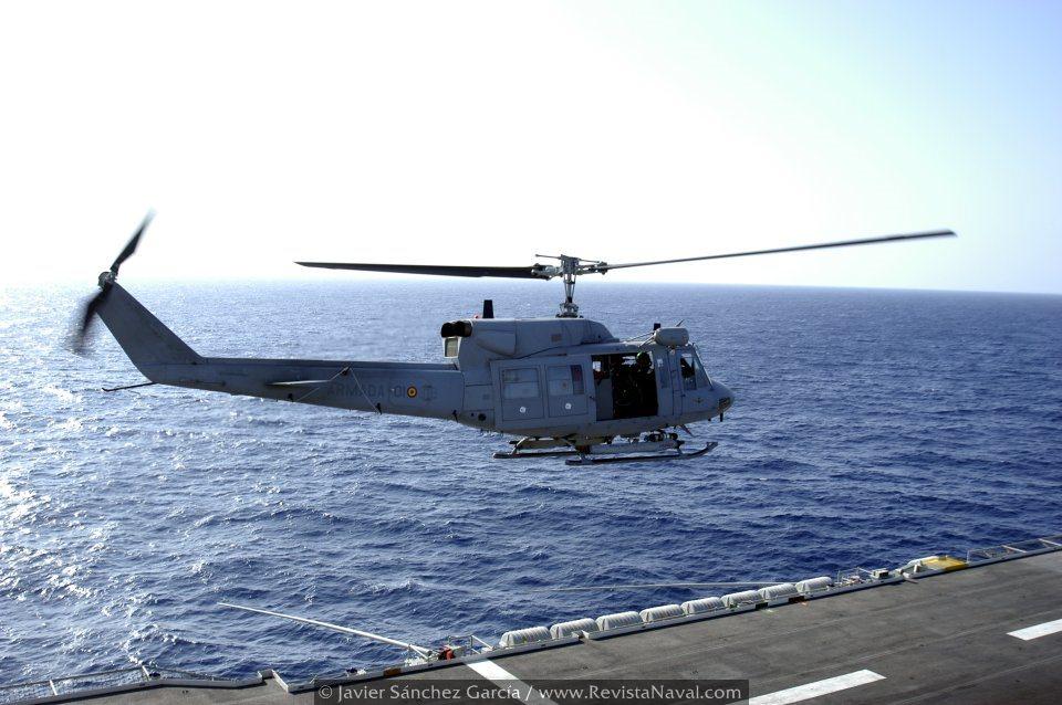 Los aparatos de la 3ª Escuadrilla están siendo modernizados para prolongar su vida (Foto: Javier Sánchez García/Revista Naval)