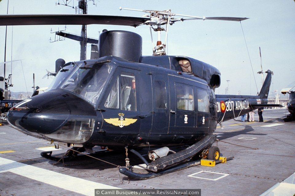 Los helicópteros de la FLOAN