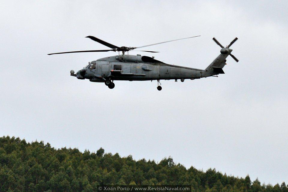 La Armada, que cuenta con 12 aparatos SH60B Block I Core B, ha iniciado el proceso para adquirir al menos 6 SH-60F a Estados Unidos (Foto: Xoán Porto/Revista Naval