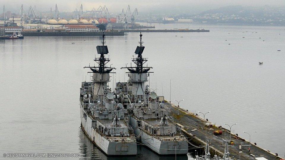 Las fragatas «Asturias» y «Extremadura» serán desguazadas en Turquía