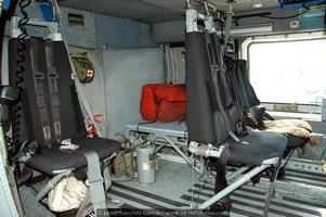 Interior de un SH-60 (Foto: Javier Sánchez García/Revista Naval)