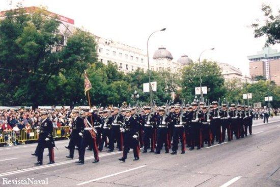 Compañía de Infantería de Marina de la Agrupación de Madrid (Foto: Javier Sánchez)