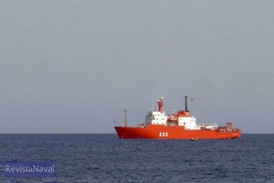 Pruebas de mar frente a la costa cartagenera, durante el pasado mes de agosto (Foto: Lapenu)