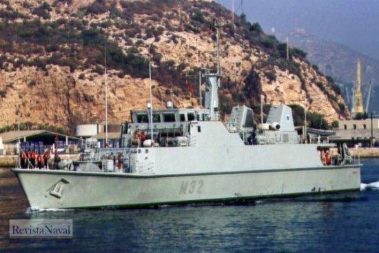 M-32 «Sella» (Foto: Diego Quevedo Carmona)