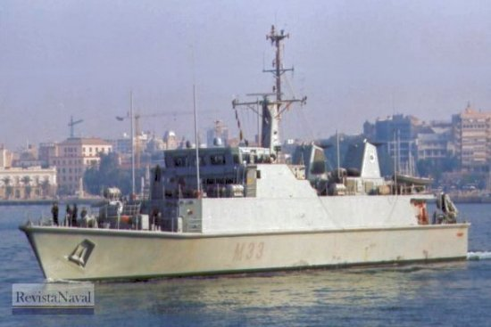 M-33 «Tambre» (Foto: Diego Quevedo Carmona)