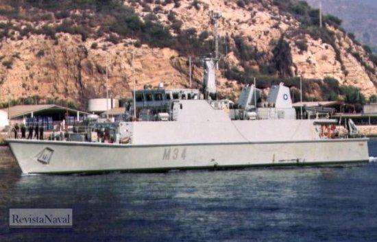 M-34 «Turia» (Foto: Diego Quevedo Carmona)