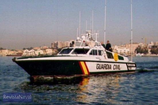 El buque pertenece al tipo Rodman 55 (Foto: Diego Quevedo Carmona)