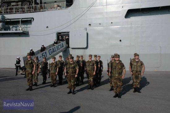Miembros de la Unidad de Protección de la Infantería de Marina (Foto: Lapenu)