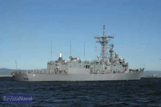 17/04/2005. USS «Taylor» (Foto: Javier Sánchez/RevistaNaval.com)