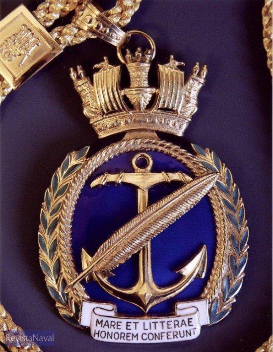 Medalla de San Telmo (Foto: Fundación Letras del Mar
