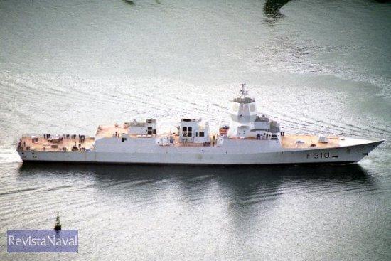 El buque será entregado a la Armada nórdica el próximo mes de septiembre (Foto: RevistaNaval.com)