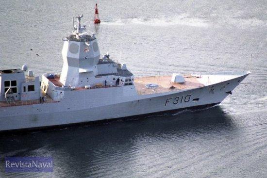 La fragata «Fridtjof Nansen» es la primera de una serie de cinco buques (Foto: RevistaNaval.com)