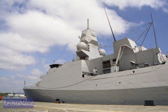 La compacta silueta de las fragatas LCF (Foto: Xoán Porto / RevistaNaval.com)