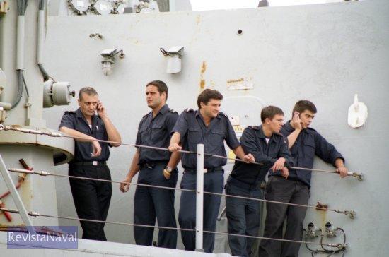 Tras casi cuatro meses por fin hay cobertura en el teléfono móvil (Foto: Xoán Porto/RevistaNaval.com)