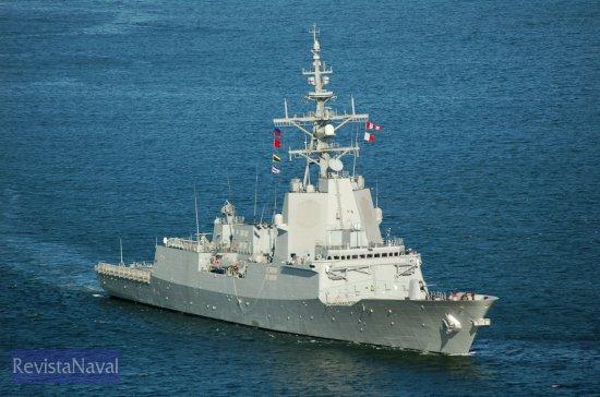 La «Blas de Lezo» es la tercera unidad de la clase F-100. A los 4 buques inicialmente previstos se ha añadido una quinta unidad aprobada por el Consejo de Ministros el pasado mes de mayo (Foto: Xoán Porto/RevistaNaval.com)