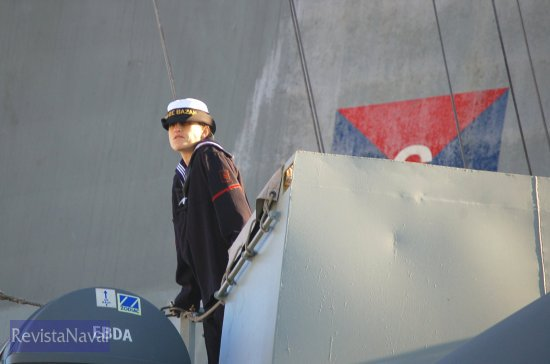 (Foto: Fernando Rivera/Revista Naval)