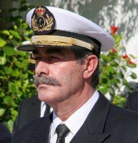 Almirante José María Pelluz Alcantud, nuevo Jefe de la Base Naval de Rota (Foto: CGF)