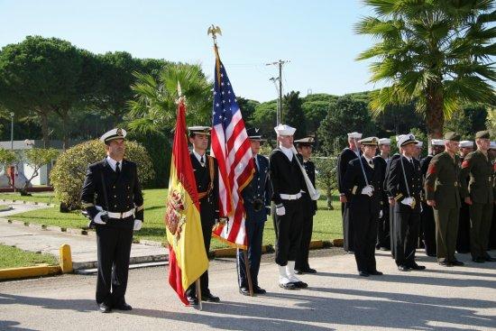 Las banderas de España y Estados Unidos (Foto: CGF)