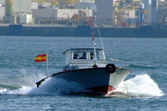 Lancha de prácticos (Foto: Revista Naval)